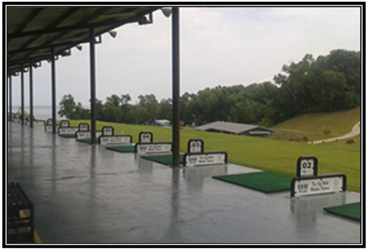 Driving range management